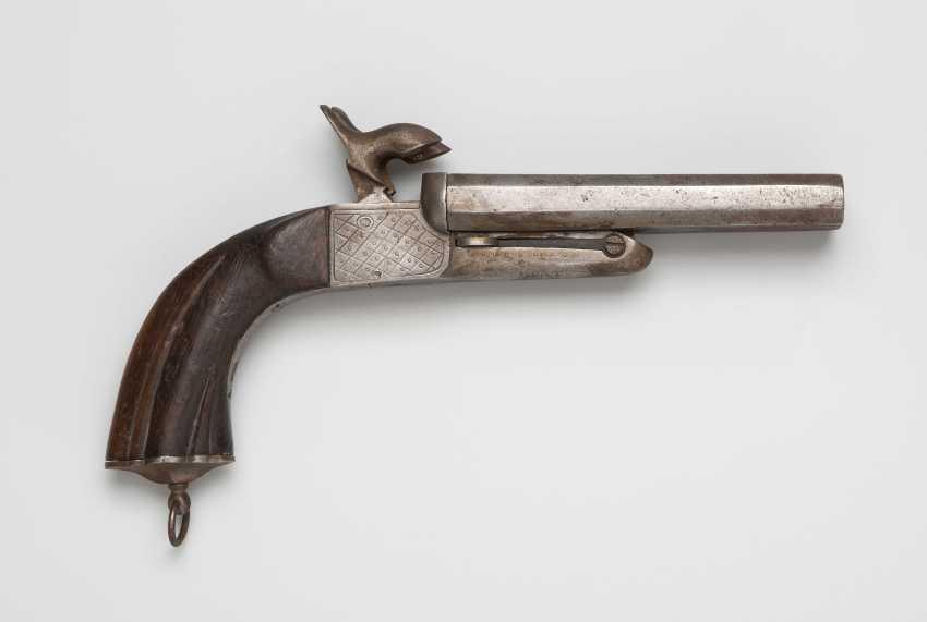 Pin fire pistol - photo 1