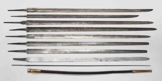Collection of sword and dagger blades. - photo 1