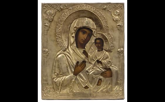 Icon of the Virgin of Smolensk.... - photo 1