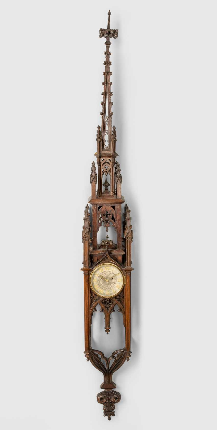 Gothic Wall Clock - photo 1