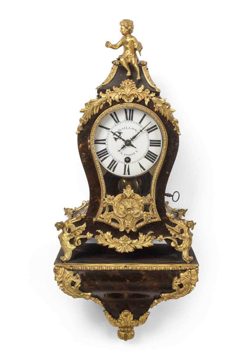 Small pendulum clock with Base - photo 1