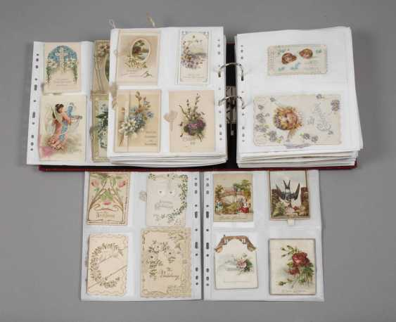 Collection of occasion cards, around 1900 - photo 1