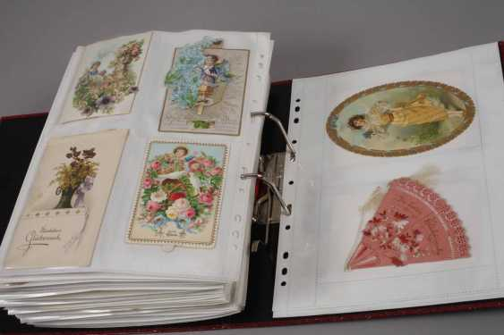 Collection of occasion cards, around 1900 - photo 2