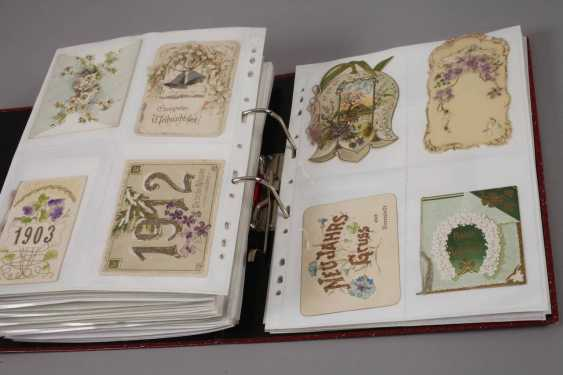 Collection of occasion cards, around 1900 - photo 3