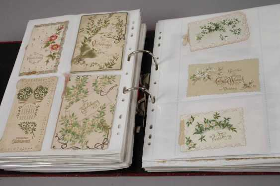 Collection of occasion cards, around 1900 - photo 5