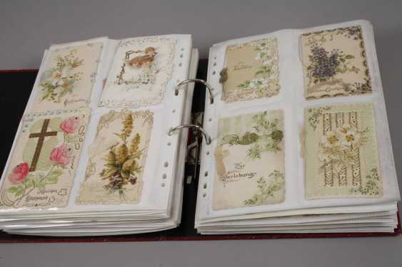 Collection of occasion cards, around 1900 - photo 6