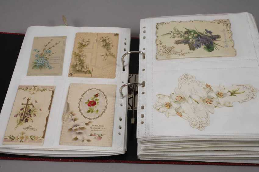 Collection of occasion cards, around 1900 - photo 7