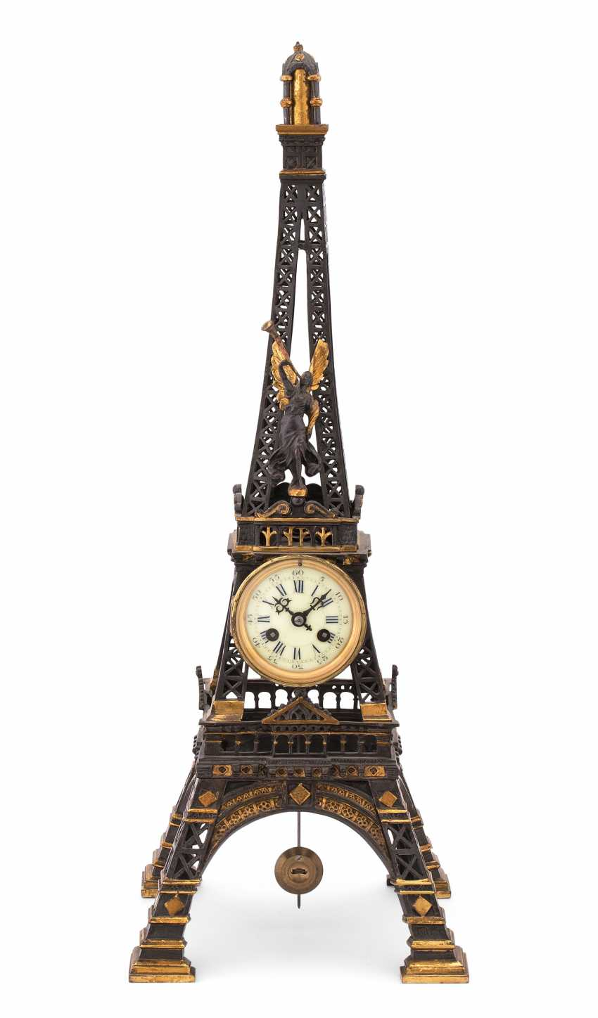 Horloge De Table Tour Eiffel - photo 1