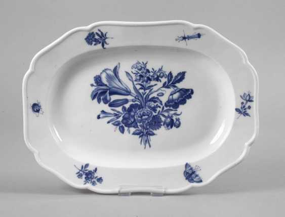Meissen Serving Plate, Blue Painting - photo 1