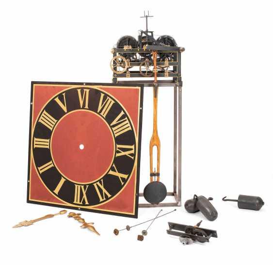 Tower Clock Mechanism, Förster / Nürnberg No. 537 - photo 1
