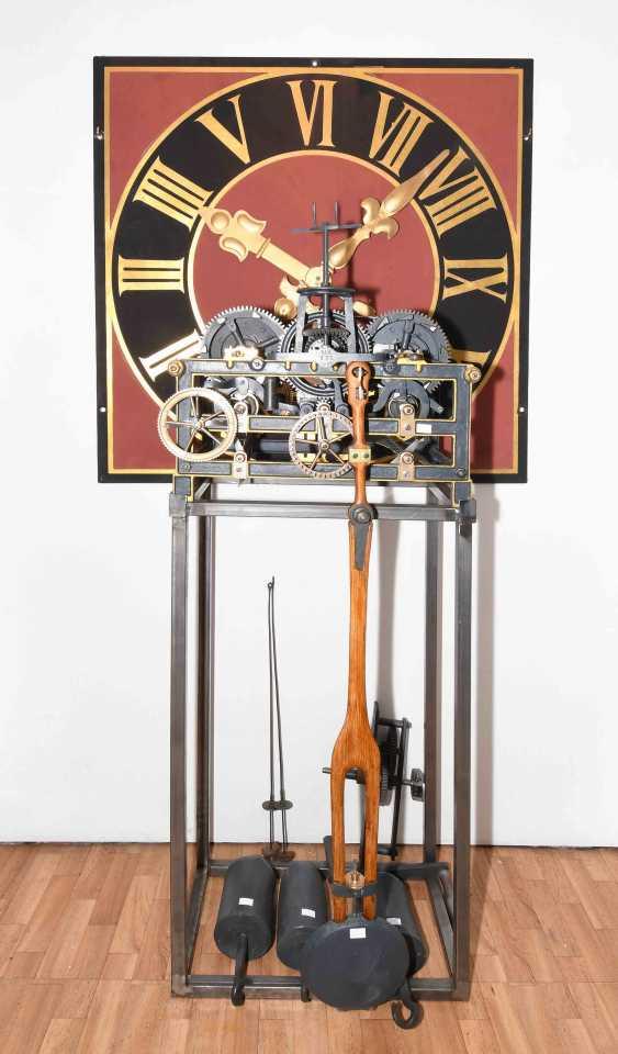 Tower Clock Mechanism, Förster / Nürnberg No. 537 - photo 2
