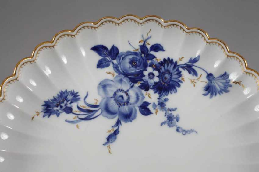 """Meissen coffee service """"blue flower with gold grasses"""" - photo 4"""