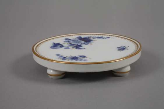 """Meissen coffee service """"blue flower with gold grasses"""" - photo 5"""
