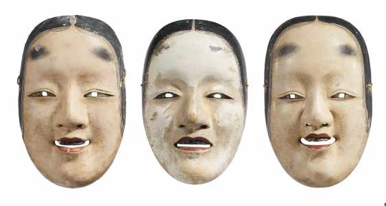 Three masks for the representation of young women - photo 1