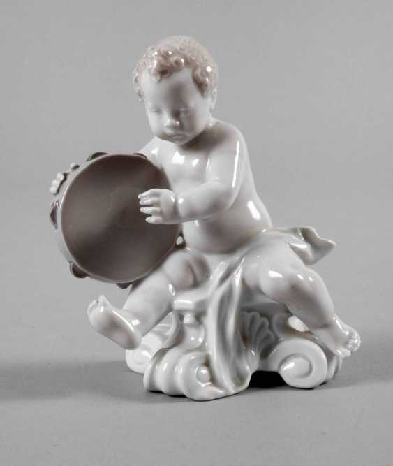 Rosenthal Putto with tambourine - photo 1