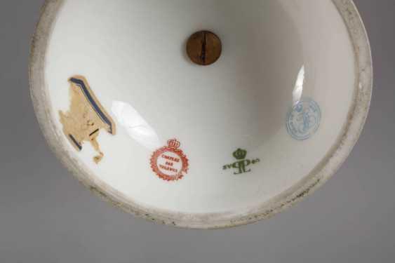 Sevres magnificent vase with bronze mount - photo 4