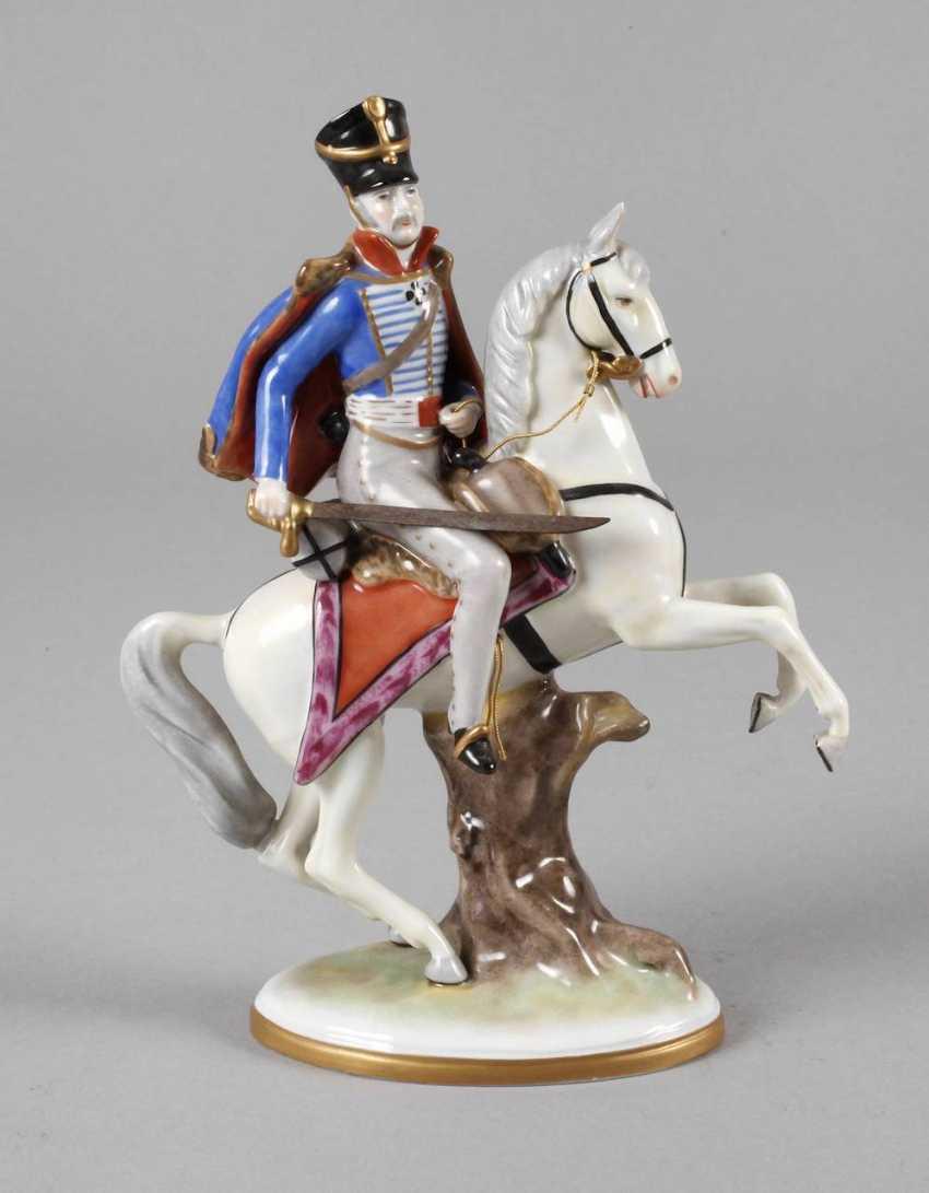 Volkstedt hussar on horseback - photo 1