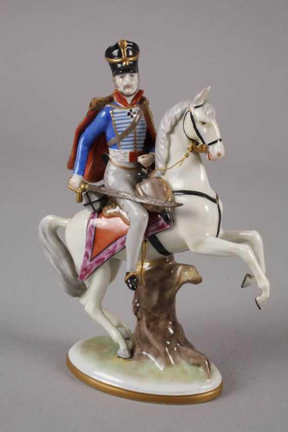 Volkstedt hussar on horseback - photo 2