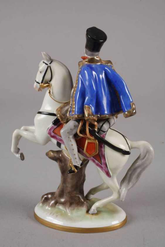 Volkstedt hussar on horseback - photo 3