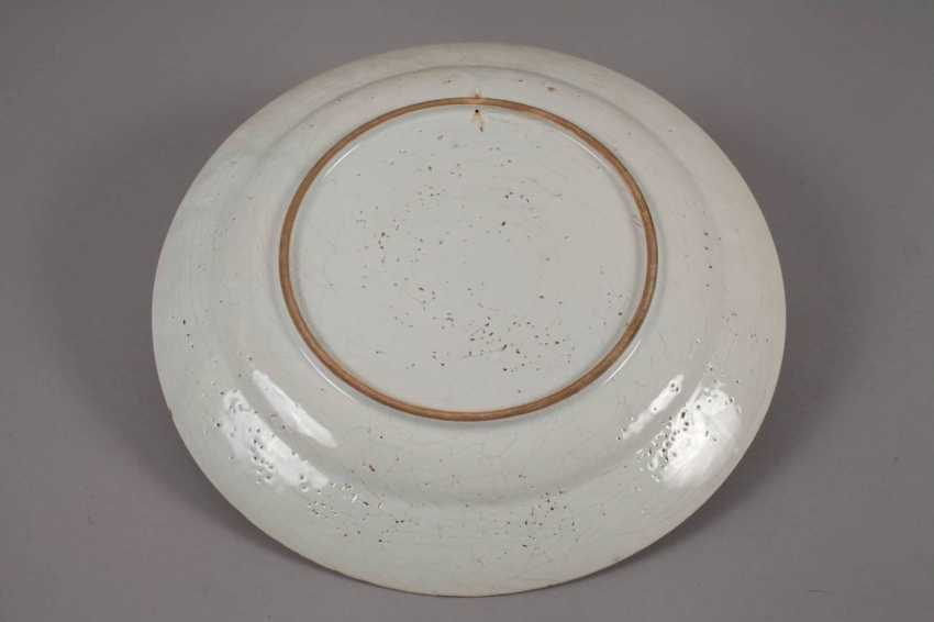 Large Faience Plate - photo 2