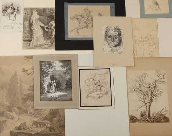 Drawing collection of the 19th century. Century - photo 1