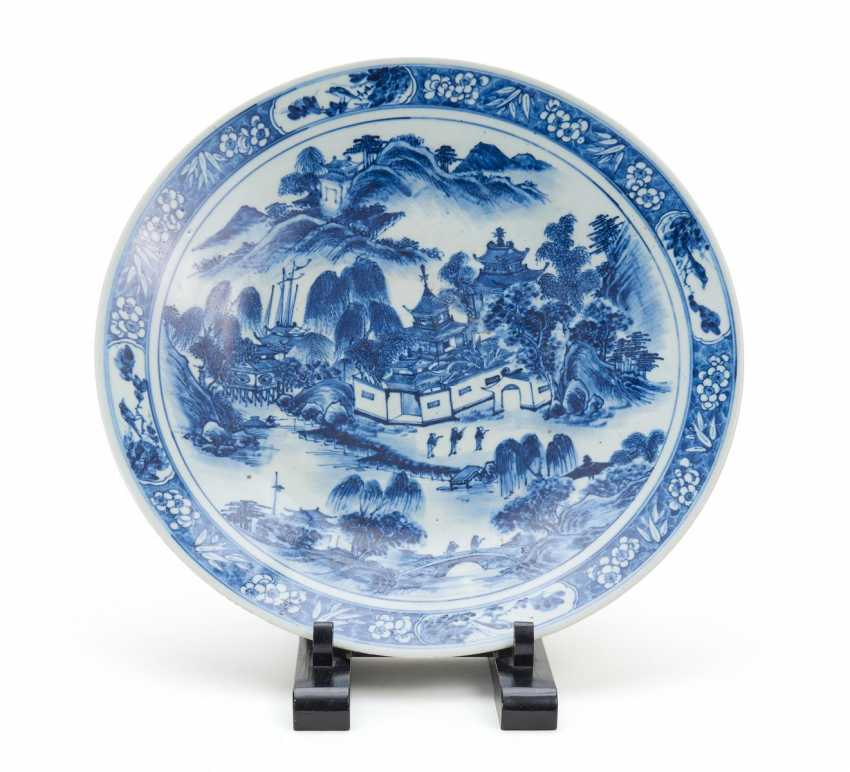 Large plate with Palace in the summer mountains - photo 1