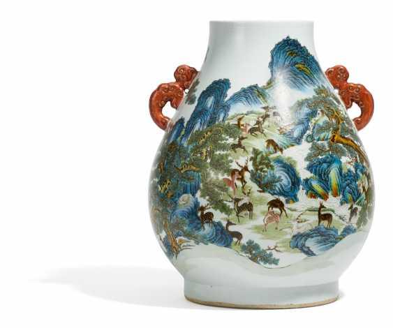Large hu Vase of the hundred deer - photo 1