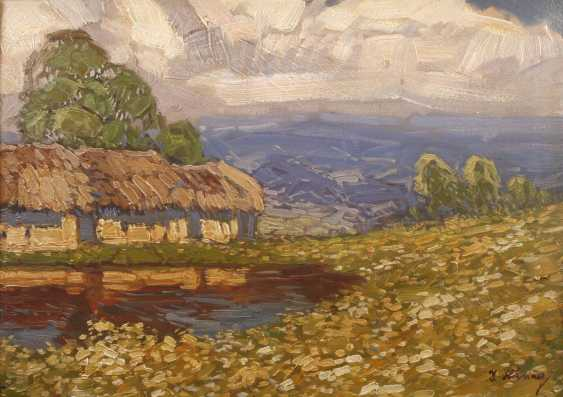 Josef Häring, hut by the pond - photo 1