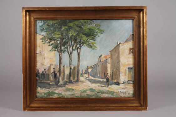 August Herzog, Mediterranean Street Scene - photo 2