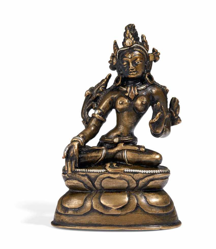 White Tara (sitatara) with the seven eyes - photo 1