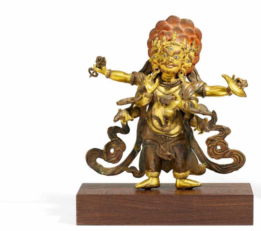 Большой Shadbhuja Махакала - фото 1