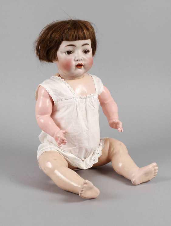 Large Porcelain Head Doll - photo 1