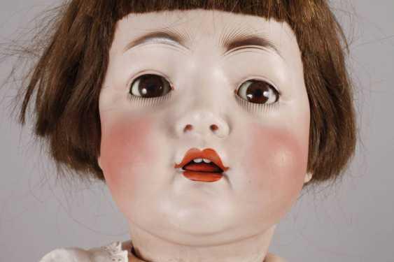 Large Porcelain Head Doll - photo 2