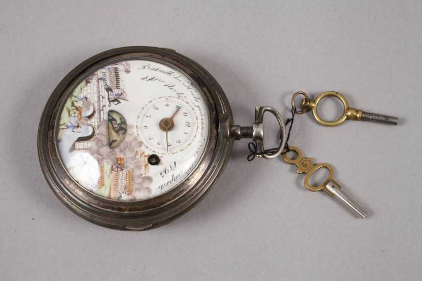 Spindle pocket watch with automaton - photo 2
