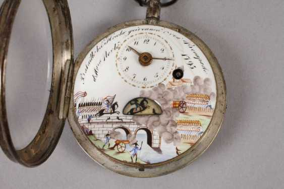 Spindle pocket watch with automaton - photo 5