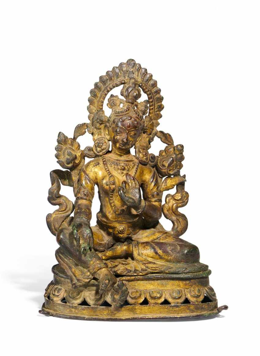 White Tara on a Lotus pedestal - photo 1
