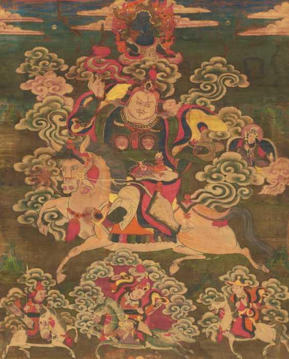 Thangka king Gesar Ling - photo 1