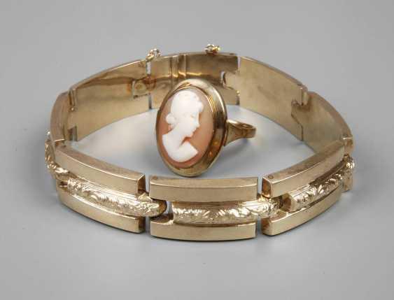 Ladies ring and bracelet - photo 1
