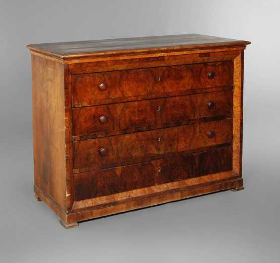 Large Biedermeier Chest Of Drawers - photo 1