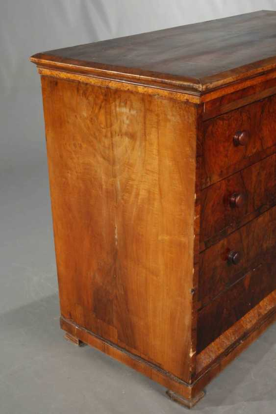Large Biedermeier Chest Of Drawers - photo 2
