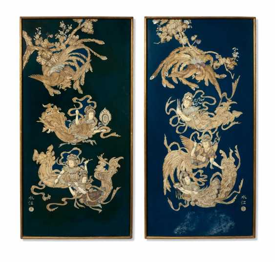Pair of large Panels with heavenly music can - photo 1