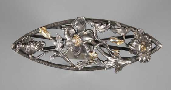 Fine Belt Buckle Art Nouveau - photo 1
