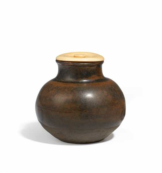 Apple-shaped (marutsubo) tea (chaire) - photo 1
