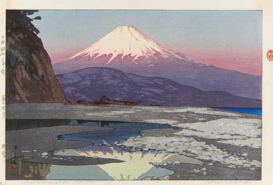 At The Age Of About (1876 - 1950). Fujiyama from Okitsu - photo 1