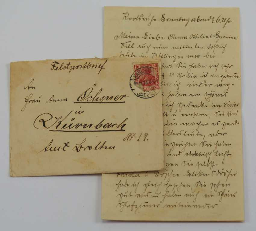Lot 2  Baden: property of staff Sergeant Oechsner - carrier