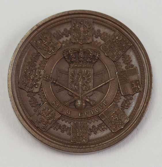 Prussia: tribute to medal of Friedrich Wilhelm IV. - Bronze. - photo 2