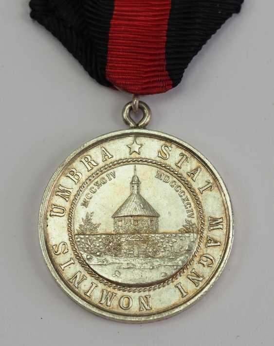 Finland: medal, on the 600th anniversary of the city in 1894, of Käkisalmi. - photo 1