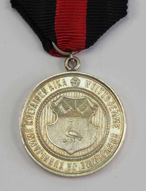 Finland: medal, on the 600th anniversary of the city in 1894, of Käkisalmi. - photo 2
