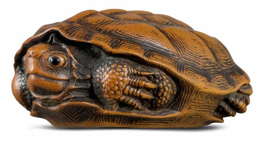 Netsuke: Turtle - photo 1