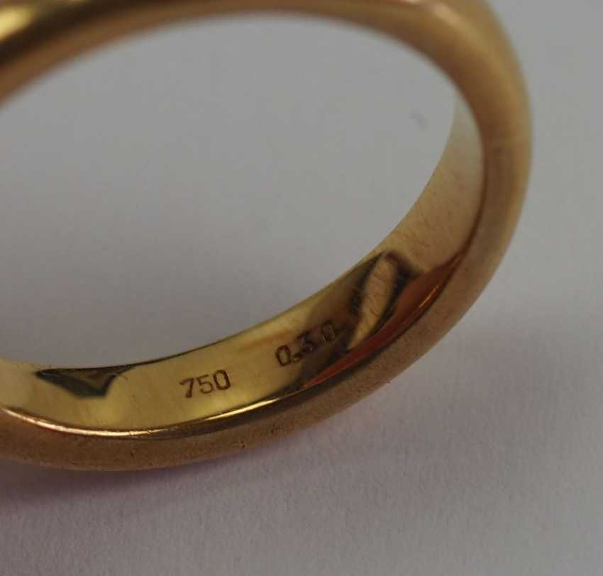 Diamant Ring - GOLD. - photo 3